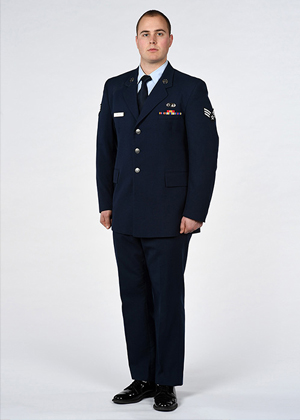 USAF full-length official photo example