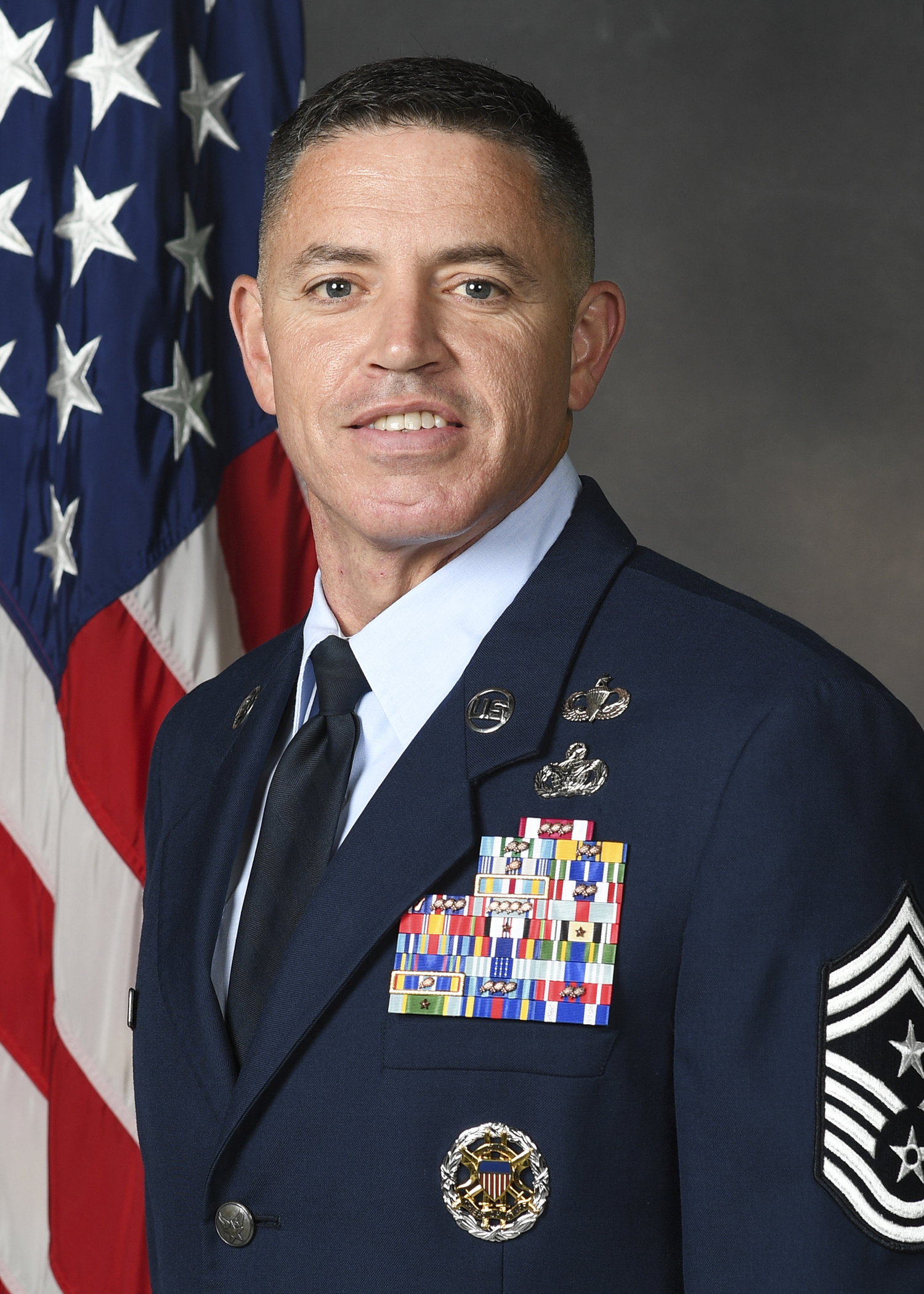 Chief Master Sgt. Jason Q. Shaffer - Command Chief Master Sergeant