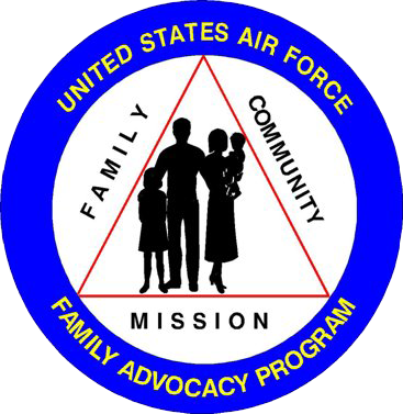 Graphic of the Family Advocacy Program logo