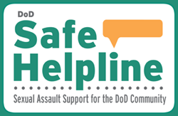 Graphic for link to the DOD Safe Helpline