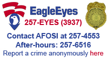 Eagle Eyes contact information - call 257-3937